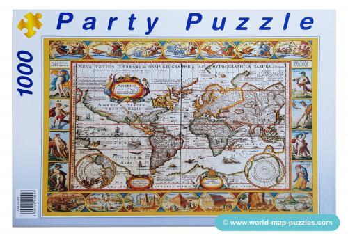 C mh-0014 Party-Puzzle Box