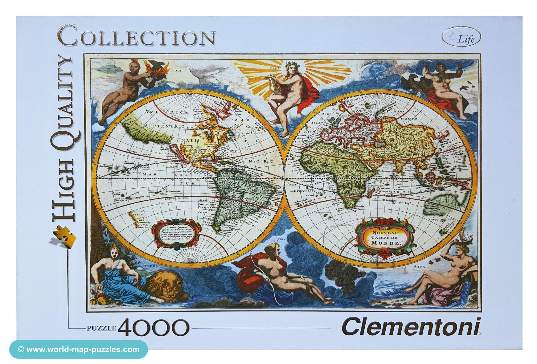 C mh-0018 Clementoni 4000