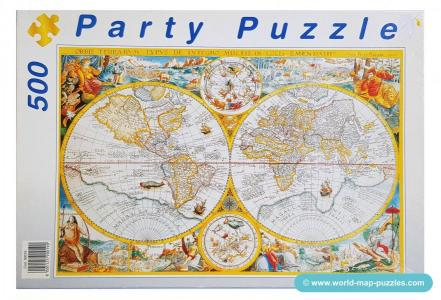 C mh-0182 PartyPuzzle 500