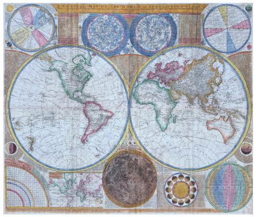 mh-0459 Michèle Wilson World Map